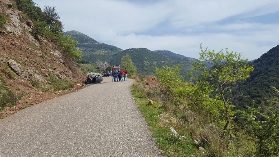 Ταυτοποιήθηκε η σορός του οδηγού που απανθρακώθηκε στην περιοχή του Θέρμου.