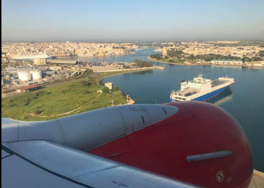 Αναγκαστική προσγείωση έκανε το αεροπλάνο που εκτελούσε την πτήση Άκτιο – Κολωνία (φωτο)