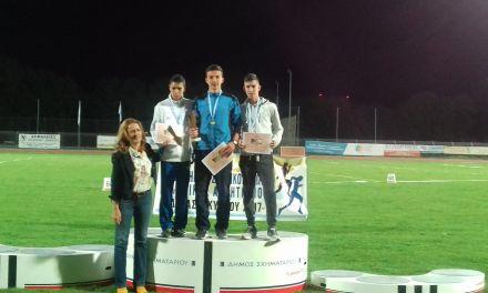 Νέο ατομικό ρεκόρ και χάλκινο μετάλλιο για τον Νίκο Σταμούλη