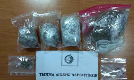 Συνελήφθη 23χρονος για κατοχή ναρκωτικών στη Λεπενού