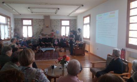 """Ομιλία για την """" Γεροντική Ανοια"""" στο ΚΑΠΗ Δήμου Αμφιλοχίας"""