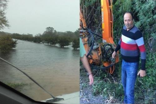 Αποκαλυπτικός ο Α.Κότσαλος για τα φαινόμενα των πλημμυρών -Παρέμβαση Εισαγγελέα Μεσολογγίου αδιαφορία υπευθύνων!