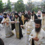 Υποδοχή Ιερού Λειψάνου Αγίου Βλασίου του Ακαρνάνος στον ιερό Ναό Αγίας Τριάδος Αγρινίου