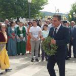 Στο Μνημόσυνο στον Ι. Ν  Αγίου Κωνσταντίνου για τα θύματα της Ποντιακής Γενοκτονίας ο Δ.Κωνσταντόπουλος