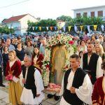 Λιτάνευση της ιερής εικόνας του Αγίου Νικολάου -Πολιούχου τοπικής κοινότητας Λουτρού Αμφιλοχίας