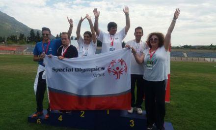 Ξεχώρισε και επέστρεψε με μετάλλια η αθλητική ομάδα του «Παναγία Ελεούσα»  στους  Αγώνες Special Olympics Hellas