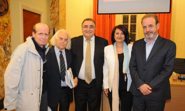 Αγρίνιο: Πραγματοποιήθηκε η παρουσίαση του βιβλίου«Ιστορία των Συνεταιρισμών στην Ελλάδα»