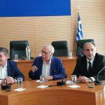 Σύσκεψη στην Περιφέρεια παρουσία του υπουργού Δ. Βίτσα για το μεταναστευτικό