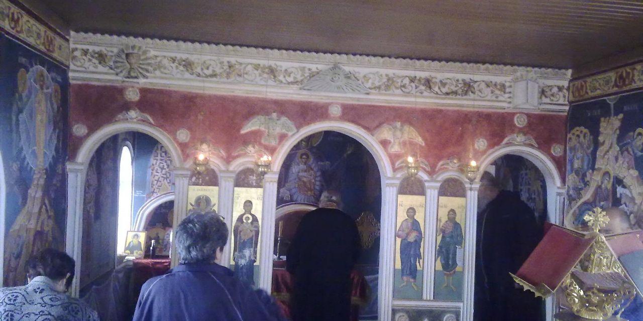 Ο εορτασμός της Αναλήψεως στην Ανάληψη Τριχωνίδας (φωτο)
