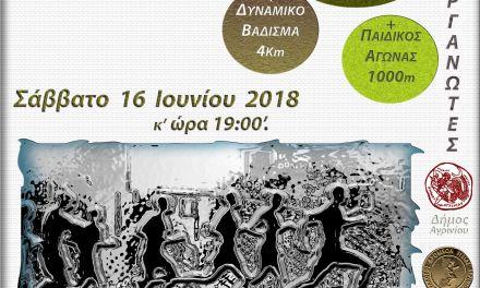 Προκήρυξη 24ου λαϊκού αγώνα δρόμου Νεάπολης Αγρινίου