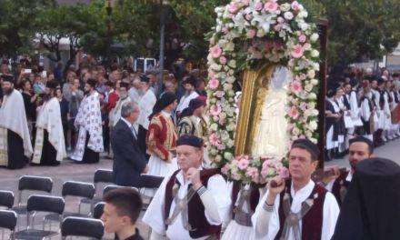 Λιτανεία Αγίου μάρτυρος Χριστοφόρου-Κορυφώθηκαν οι εορταστικές εκδηλώσεις στο Αγρίνιο(φωτο)