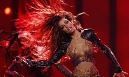 """Έβαλε """"φωτιά"""" στη σκηνή της Eurovision η Ελένη Φουρέιρα – Δείτε τη δεύτερη πρόβα της(φωτο-video)"""