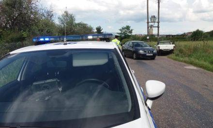 Αγρίνιο: Εκτροπή οχήματος με τραυματισμό στο ύψος της Αμαλίας (φωτο-video)