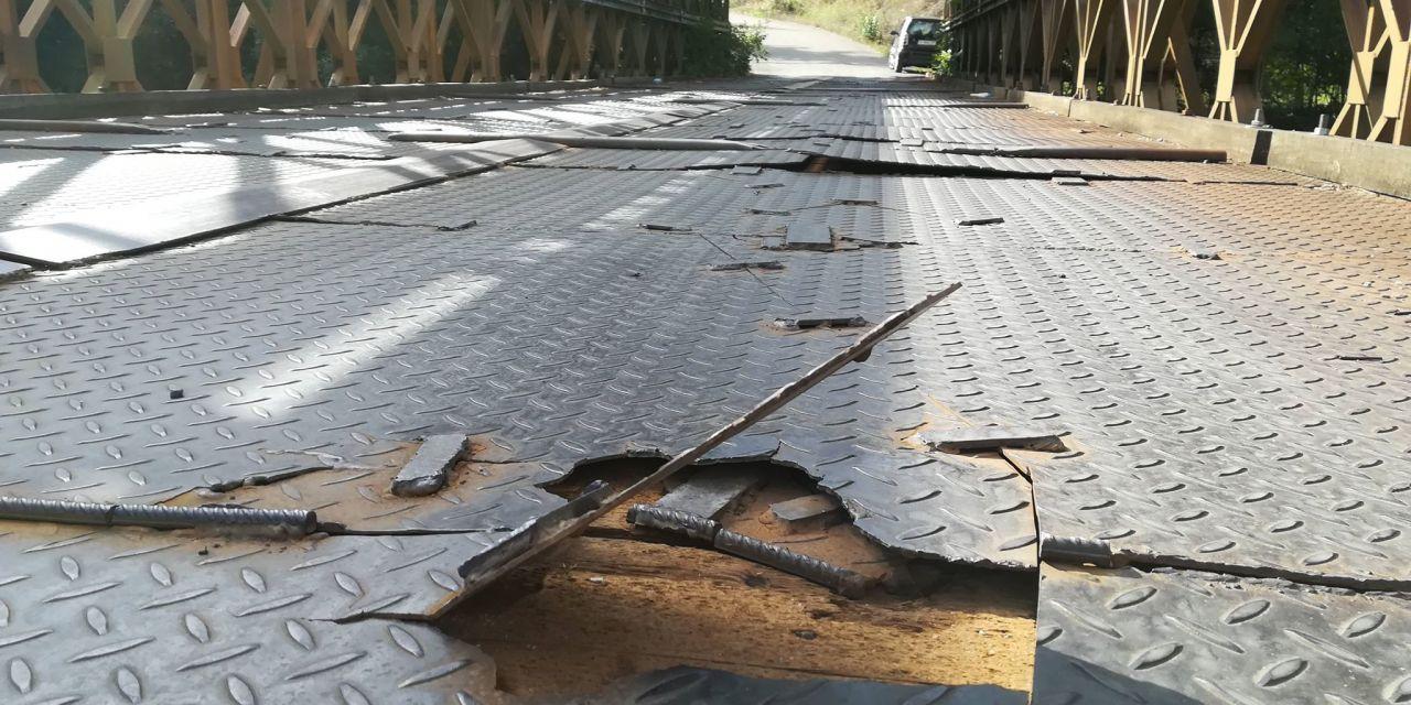 Επικίνδυνη η γέφυρα στον  Άγιο Νικόλαο του Δήμου Αγρινίου