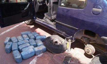Συνελήφθη στο Κομπότι, 56χρονος  με πάνω από 40 κιλά χασίς (φωτο)