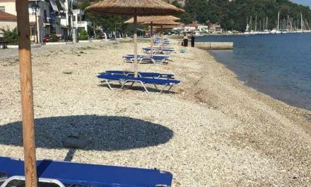 """""""Φτερωτές"""" ξαπλώστρες στην παραλία της Βόνιτσας!"""