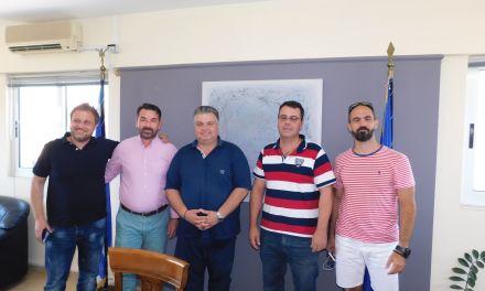 Συνάντηση Ν.Καραπάνου με τους προέδρους των αθλητικών σωματείων καλαθοσφαίρισης του Δήμου Μεσολογγίου