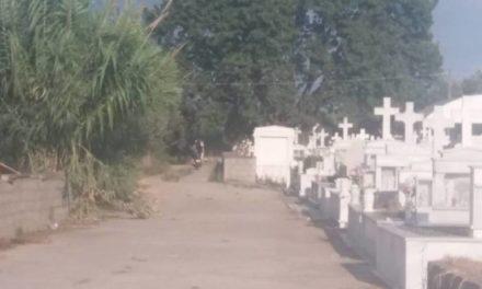 """Έτσι """"τιμάει"""" η δημοτική αρχή Μεσολογγίου τους νεκρούς και τα μνημεία!!"""