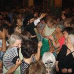 Πλήθος πιστών στην Αγία Τριάδα Αγρινίου στην Εορτή της Κοιμήσεως της Θεοτόκου