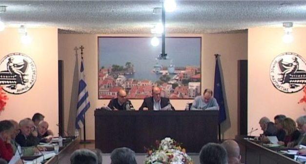 Συνεδριάζει τη Δευτέρα το Δημοτικό Συμβούλιο Δήμου Ναυπακτίας