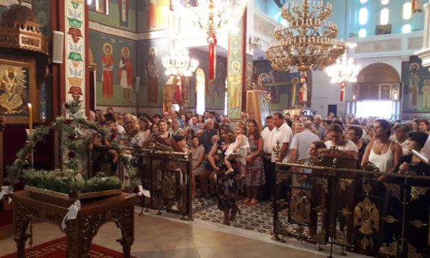 Με τη δέουσα λαμπρότητα η εορτή της υπεραγίας Θεοτόκου στην Πάλαιρο(φωτο)
