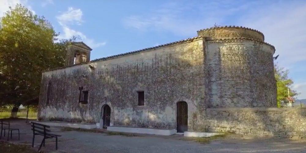 Πανηγυρίζει ο πρωτοχριστιανικός ναός της Κοιμήσεως της Θεοτόκου στη Μεγάλη Χώρα Αγρινίου
