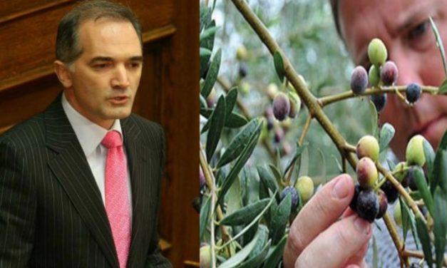 Απάντηση Υπουργού Αγροτικής Ανάπτυξης σε ερώτηση Σαλμά σχετικά με τις ζημιές από ακαρπία σε καλλιέργειες της Π.Ε Αιτ/νιας