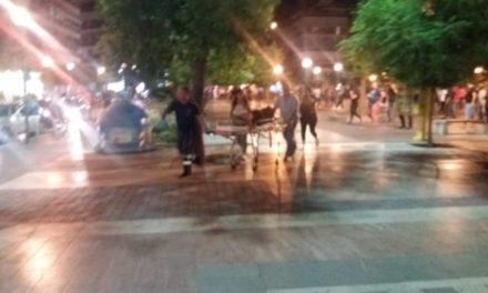 Τραυματισμός και επιθέσεις στο κέντρο του Αγρινίου-τραυματίστηκε κοπέλα στη μύτη και στο κεφάλι(βιντεο-φωτο)