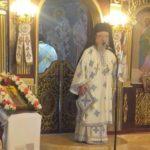 Ο Μητροπολίτης Κοσμάς στα Παλιάμπελα Ακτίου-Βόνιτσας για την Ύψωση του Τιμίου Σταυρού