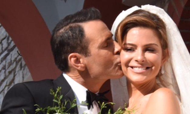 Γάμος αλά ελληνικά για τη Μαρία Μενούνος – Δείτε τη λαμπερή νύφη (φωτο-video)