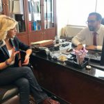 H E. Κονιδάρη συναντήθηκε με τον υποψήφιο Περιφερειάρχη Δυτικής Ελλάδας Ν. Φαρμάκη