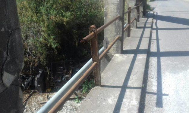 Γέφυρα Μόρνου- Επικίνδυνη εγκατάλειψη…παρά την πτώση στο κενό ηλικιωμένου