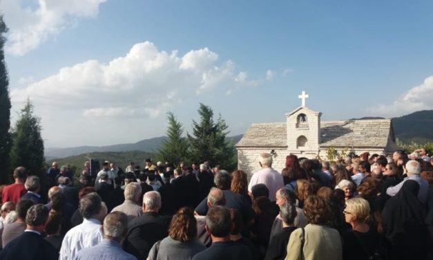 Αμφιλοχία-Κηδεύτηκε ο αείμνηστος ιερομόναχος Συμεών Λιανός(φωτο)