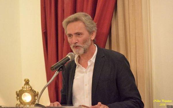 """Παρουσίαση του νέου μυθιστορήματος του Γιάννη Καλπούζου στη""""Διέξοδο""""(φωτο)"""