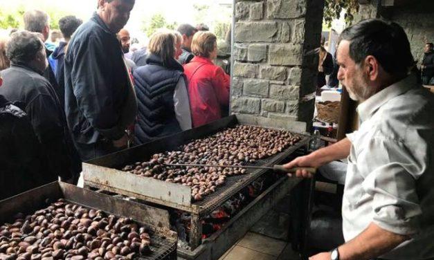 Mε επιτυχία η γιορτή κάστανου στην Άνω Χώρα Ναυπακτίας