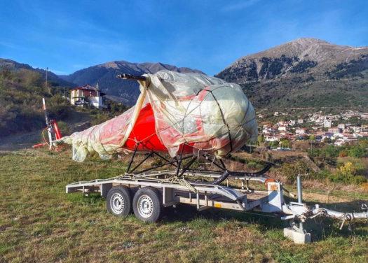 Στο Καρπενήσι βρήκαν το ελικόπτερο που είχε κλαπεί από το αεροδρόμιο Μεσολογγίου