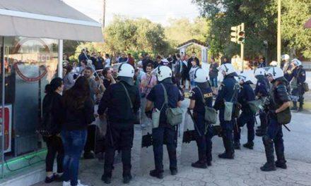 Αντίδραση  των αστυνομικών της Ακαρνανίας για τη φύλαξη του ΧΥΤΑ Λευκίμμης στη Κέρκυρα