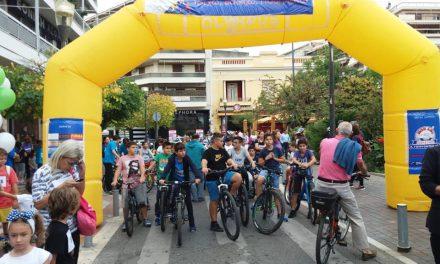 Αγρίνιο:Μεγάλη συμμετοχή στο Τρέχω, Βαδίζω, Ποδηλατώ (φωτο-video)
