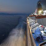Μαθητές του 3ου Λυκείου Αγρινίου επέβαιναν στο πλοίο που υπέστη ζημιές λόγω του αέρα